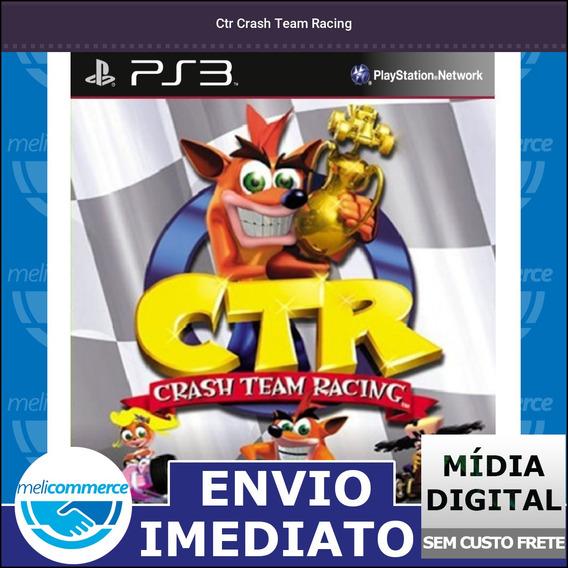 Ctr Crash Team Racing Digital Psn Envio Imediato