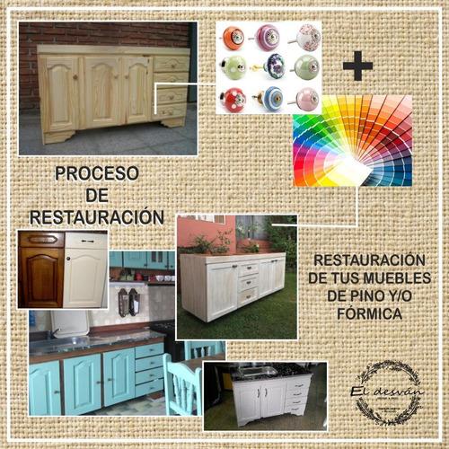 Tapizado Y Restauración De Muebles.