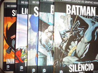 Dc Colecao De Graphic Novels Eaglemoss 1 2 3 4 5 Excelentes
