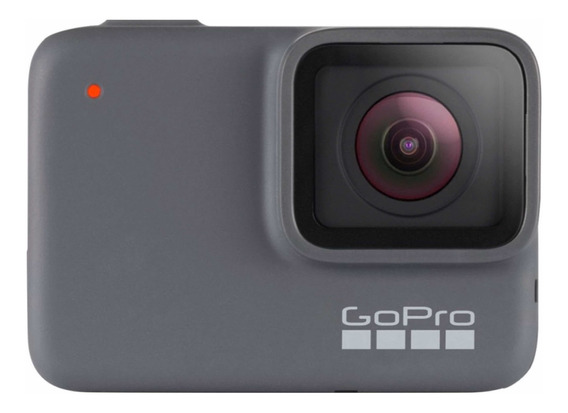 Gopro Hero7 Silver 4k Waterproof Action Camera - Prata