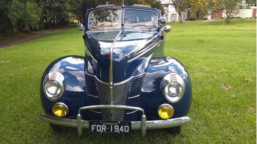 Ford Conversível 1940 ( Trocamos Por Antigos)