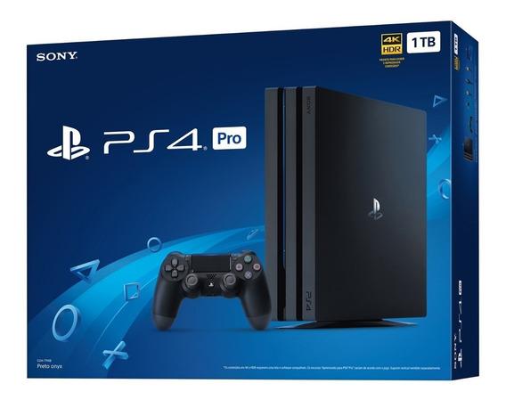 Playstation 4 Pro 1tb Ps4 Pro 4k Novo Lacrado Envio Imediato