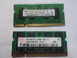 Memorias Ddr2 5300s 555 1gbx2