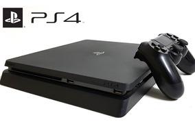 Ps4 Slim Playstation 4 500gb + 1 Controle + 1 Jogo Brinde