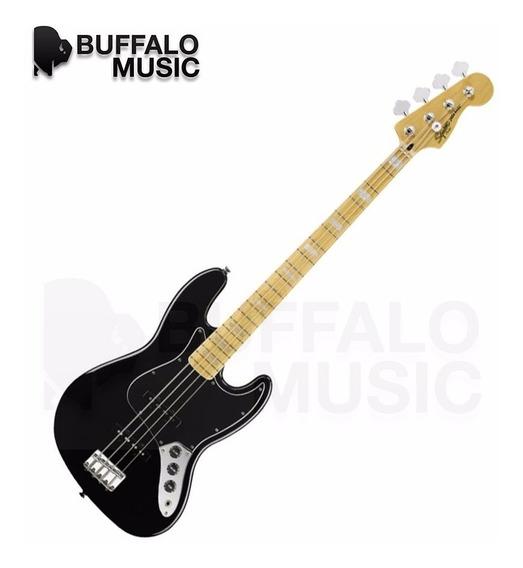 Bajo Squier Vintage Modified Jazz Bass 77 Black 030-7702-506