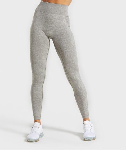 Licra Leggings Gymark Original Khaki Marl/taupe Talla M