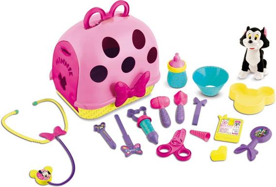 Juguete Set De Veterinaria Figaro Minnie Disney Babymovil