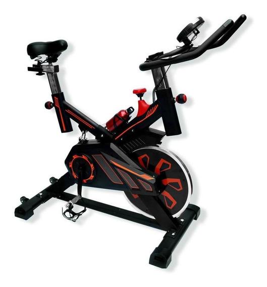 Bicicleta Spinning Banda Uso Rudo 18 Kilos Profesional