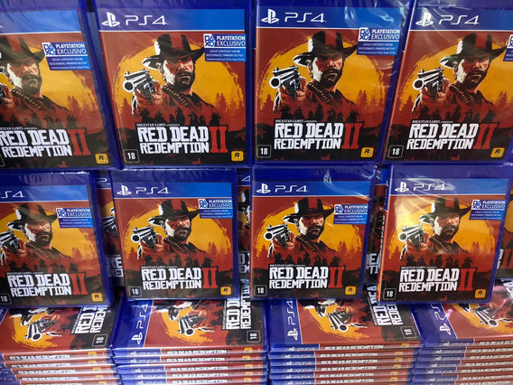 Red Dead Redemption 2 Ps4 Mídia Física Incluso Mapa