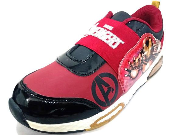 Zapatillas Deportivas Marvel Elástico Iron Man