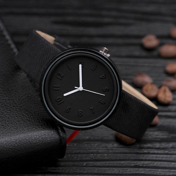 Relógio Analógico De Pulso All Black