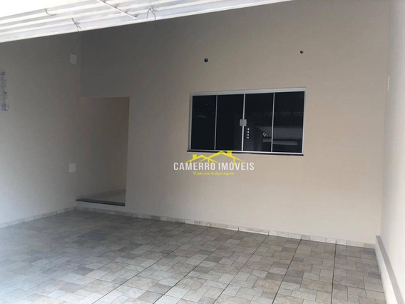 Casa Com 2 Dormitórios Para Alugar, 100 M² Por R$ 1.250/mês - Parque Nova Carioba - Americana/sp - Ca2163