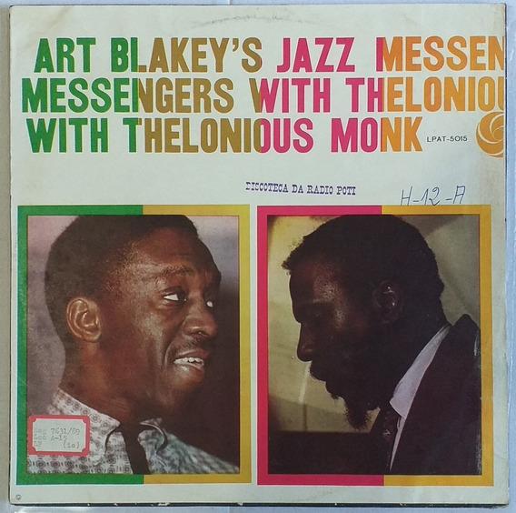 Lp Art Blakey With Thelonious Monk - Jazz Messengers (1958)
