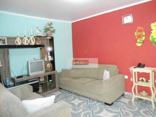 Casa Residencial À Venda, Planalto, São Bernardo Do Campo. - Ca0295