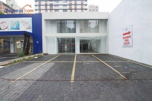 Galpão Para Alugar, 492 M² Por R$ 28.000/mês - Indianópolis - São Paulo/sp - Ga0324
