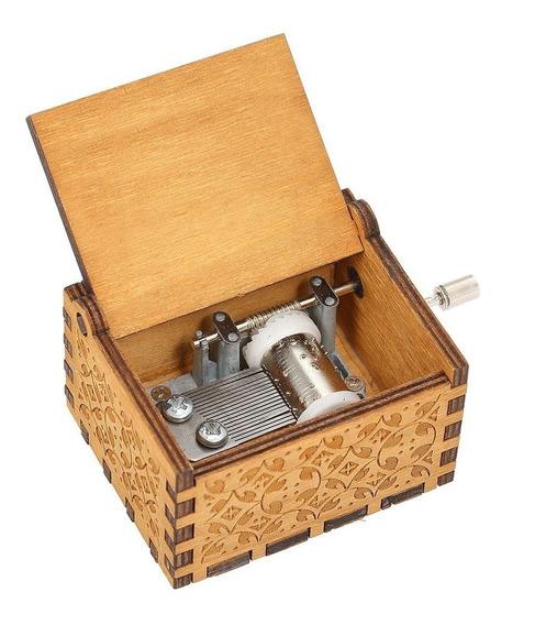 Caja De Música De Madera Vintage Juego De Tronos Tema Canció