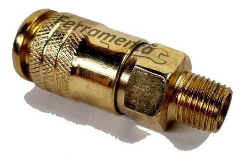 Imagem 1 de 5 de Engate Rápido 1/4 Compressor De Ar Chiaperini