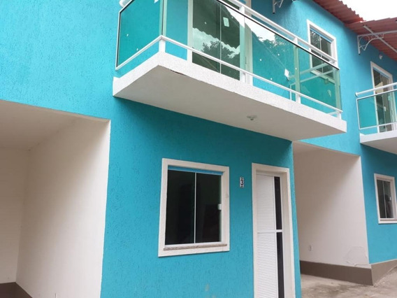 Casa Em Camarão, São Gonçalo/rj De 70m² 2 Quartos À Venda Por R$ 195.000,00 - Ca318313