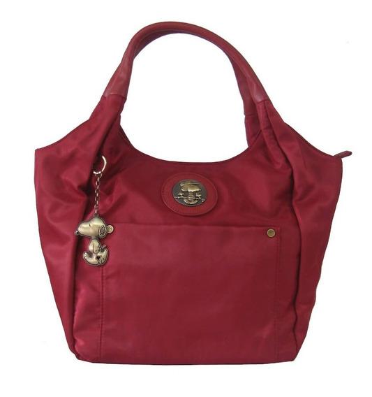 Bolsa Feminina Tote Bag Snoopy Sp6803 Coleção Be Fancy