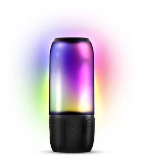 Parlante Portátil Novik Lightshow Luces Colores Bluetooth P