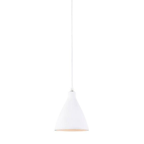 Pendente Luminaria Concreto 18 Cm Lustre Lighting Branco