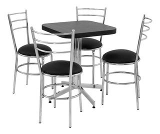 Mesa Juego Con 4 Sillas Para Restaurante Comedor Barato Ma6c