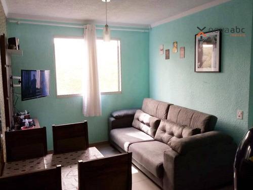 Imagem 1 de 18 de Apartamento Com 2 Dormitórios Para Alugar, 39 M² Por R$ 1.000/mês - Vila Lutécia - Santo André/sp - Ap1035