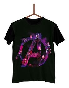 Camisa Camiseta Avengers Vingadores 4 Endgame Poster 3 J0126