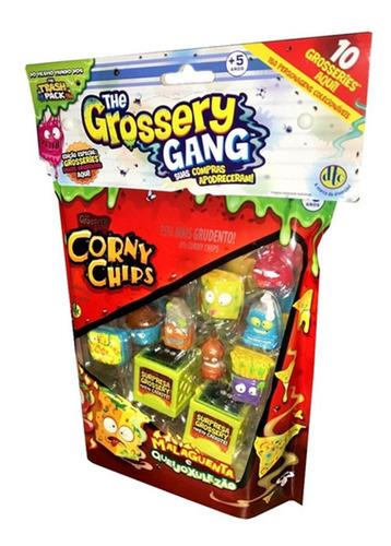 Imagem 1 de 4 de The Grossery Gang - Corny Chips - 10 Personagens - Dtc