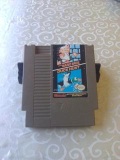Cartucho De Super Mario Bros/ Duck Hunt - Nintendo Nes