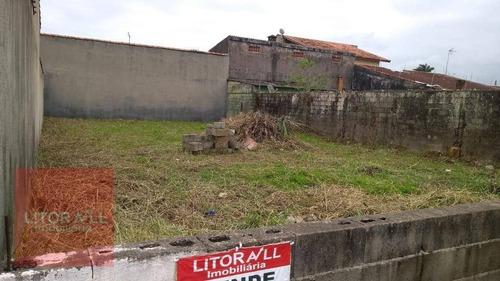 Imagem 1 de 4 de Terreno À Venda, 300 M² Por R$ 140.000,00 - Jardim Cibratel - Itanhaém/sp - Te0272