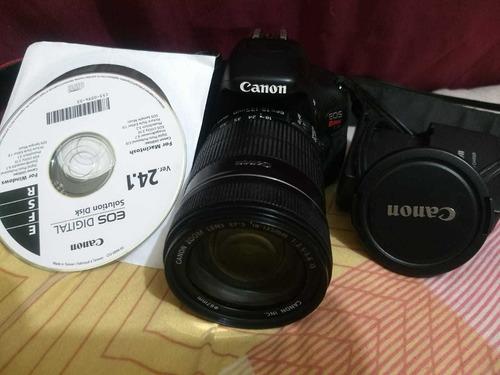 Canon T3i + Lente 50mm 1.8 + 18-135mm