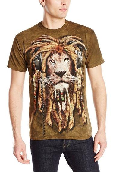 Camisa 3d Dj Jahman The Mountain Original Xg