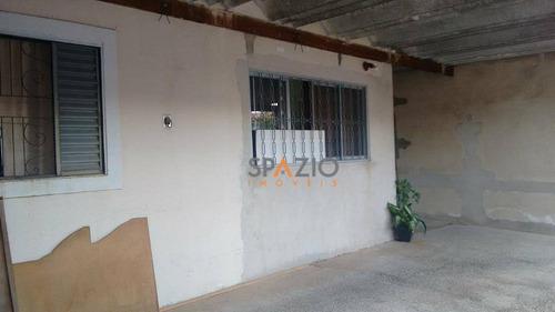 Imagem 1 de 7 de Casa Residencial À Venda, Conjunto Habitacional Arco-íris (cecap), Rio Claro. - Ca0011