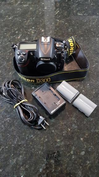 Nikon D300 (corpo) Mais Nova Do Mercado Livre 15.901 Clicks