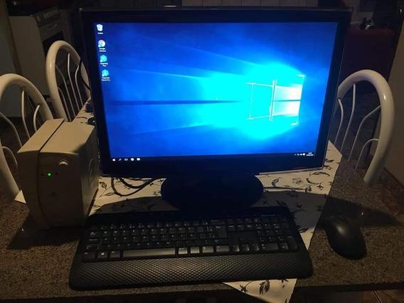 Computador Completo Com Mause E Teclado Sem Fio