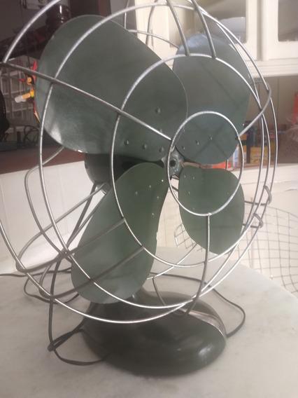 Ventilador De Ferro Antigo