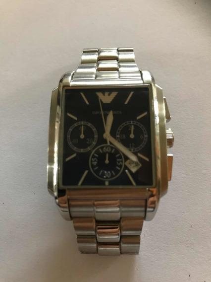 Relógio Armani Masculino Quadrado