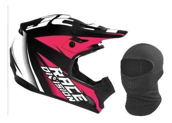 Capacete Trilha Motocross Th1 Jett Feminino Mulher Girls Top