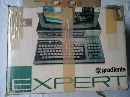 Computador Msx Gradiente Expert Gradiente Msx Game Original