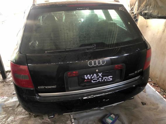 Moldura De Placa Audi A6 Allroad