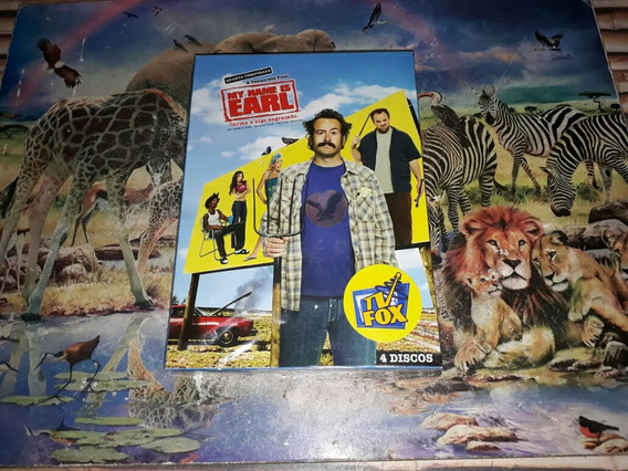 Box Dvd My Name Is Earl 4° Temporada A Final Original Novo