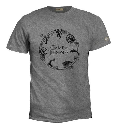 Camiseta Game Of Thrones Casas Juego Tronos Mujer Hombre Eco