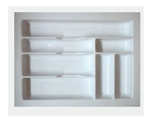 Imagen 1 de 2 de Cubiertero Organizador Nro.3 De 40x50 Plastico Aluminio