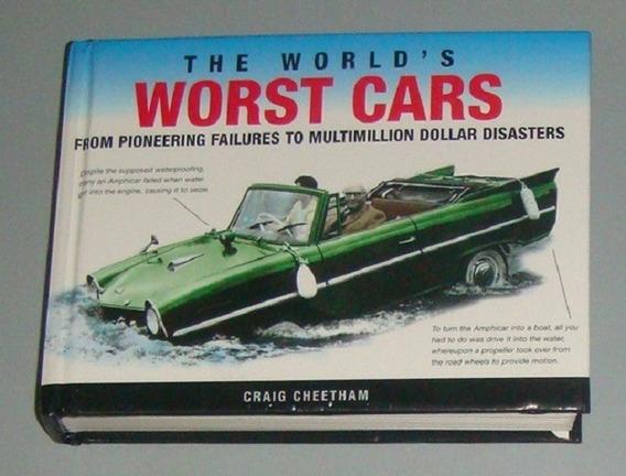 Carros - Livro The Words Worst Cars (inglês)