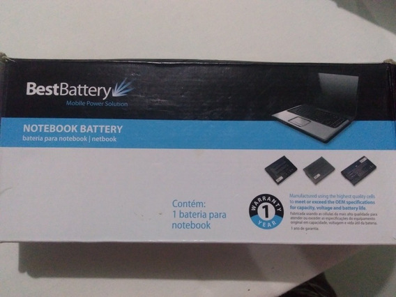 Bateria Notebook Not Dell