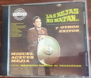 Miguel Aceves Mejía Las Rejas No Matan Cd Original