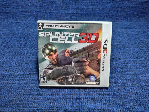 Splinter Cell 3d 3ds 2ds Completo Americano