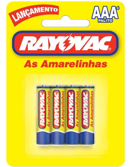 Kit C/ 10 Pilha Rayovac Amarelinha Aaa