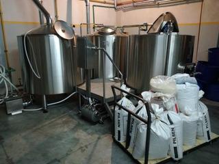 Fabrica Cerveza Arte (coccion, Fermentador, Barril, Chiller)